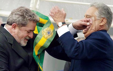 F.H. Cardoso présidentialise Lula... avec une technique éprouvée