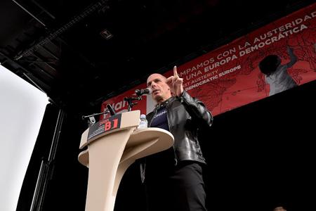 Yanis Varoufakis, Madrid, 21 février 2016