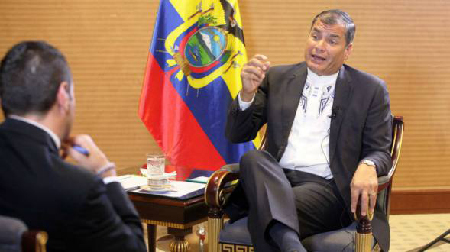 Rafael Correa, en novembre 2015, affirme qu'il gagnera l'élection de 2017, mais que l'opposition seta majoriaire dans l'Assemblée