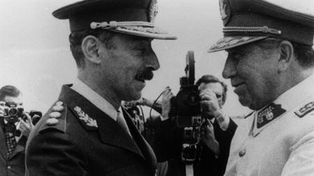 Videla et Pinochet