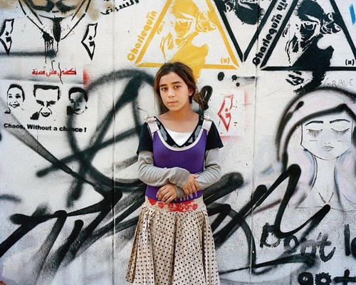 Invisible Children (Wahida 11 ans, Beyrouth 2014)