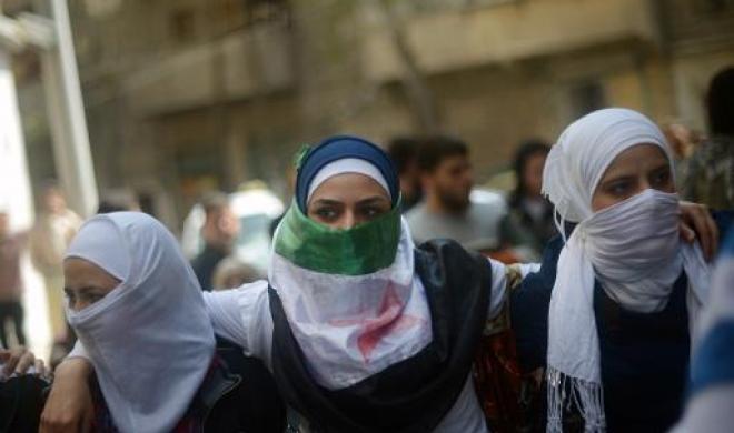Manifestation contre le régime...