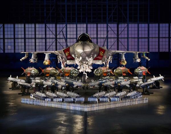 Le Lockheed Martin F35 A qui doit entrer en service en septembre 2016... avec le système d'armement le plus cher jamais conçu.
