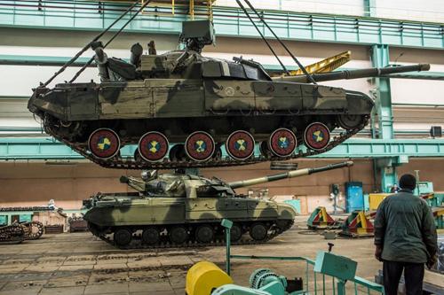 Quand l'Ukraine était une des bases de fabrication de chars pour l'URSS.