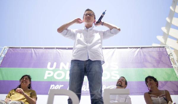 Íñigo Errejón à Séville, le 18 juin, insiste sur les mérites de Zapatero...