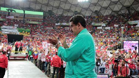 Nicolas Maduro se félicite... le 11 juin 2016