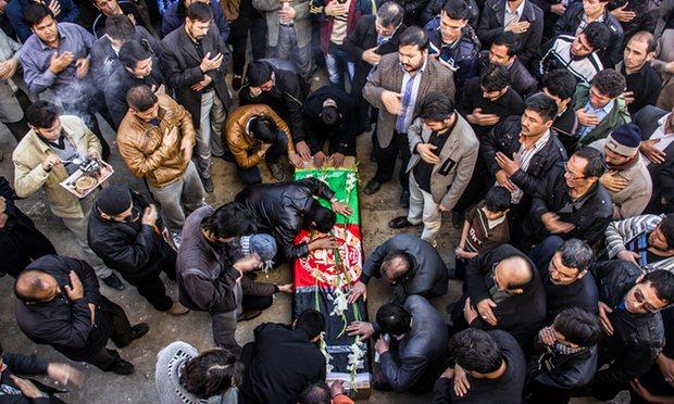 Funérailles à Mashad d'un soldat afghan tué en Syrie