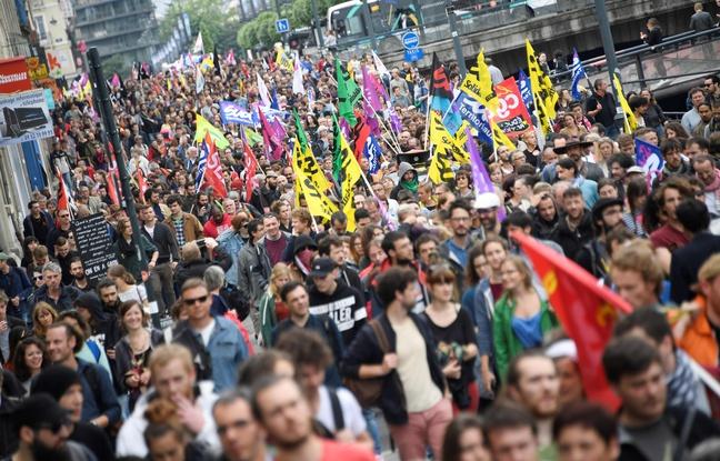 Manifestation du 14 juin à Rennes