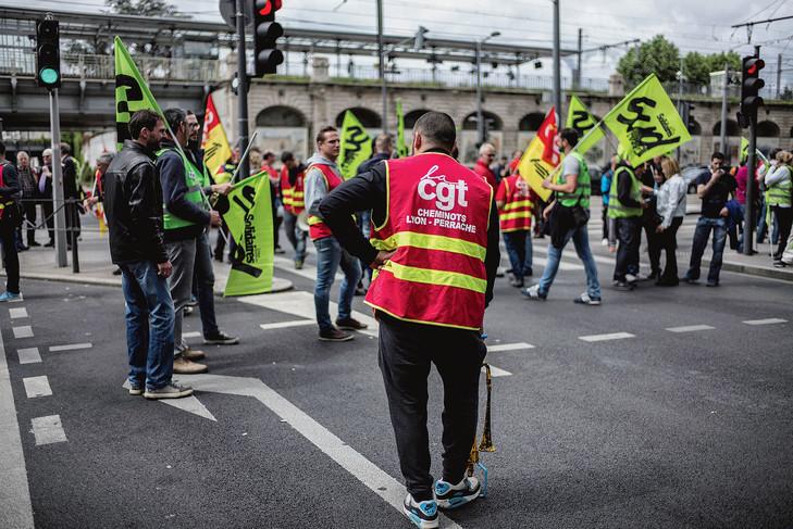 Grève à la SNCF, 1er juin 2016, Lyon