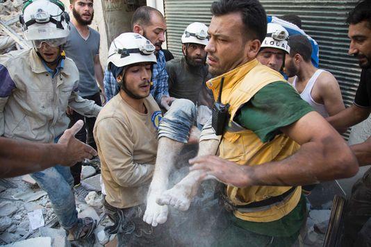 Bombardements sur Alep samedi 23 juillet