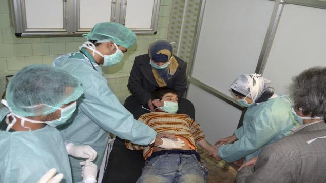 Les armes chimique du régime Assad et la «ligne rouge» de 2013