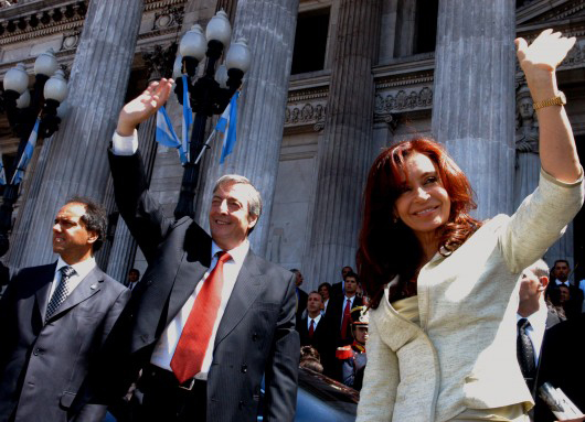 Nestor et Cristina Kirchner en 2006