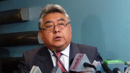 Le vice-ministre de l'Intérieur Rodolfo Illanes