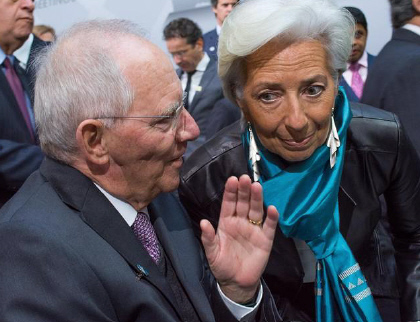 «Doc Schäuble» et Christine Lagarde