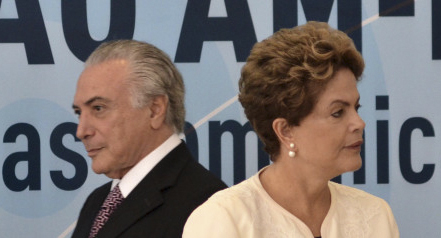 Michel Temer et Dilma Rousseff