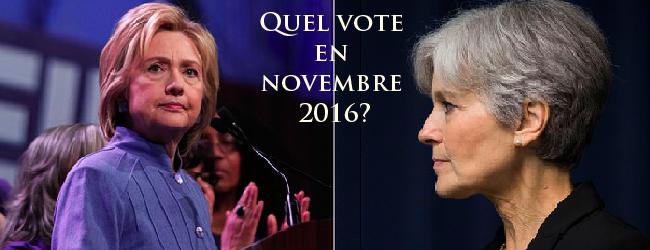 Etats-Unis. En novembre 2016, voter pour qui, dans quel contexte et quelle perspective?