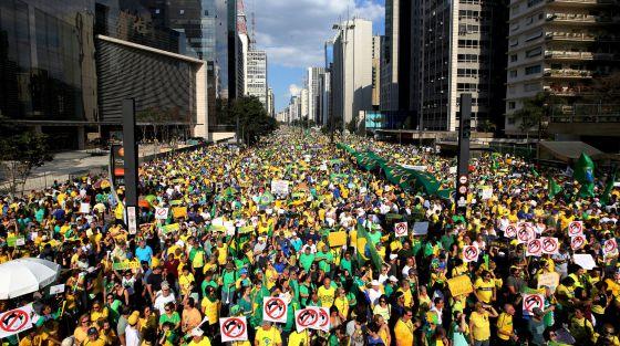 Décembre 2015: la mobilisation «anti-Dilma»