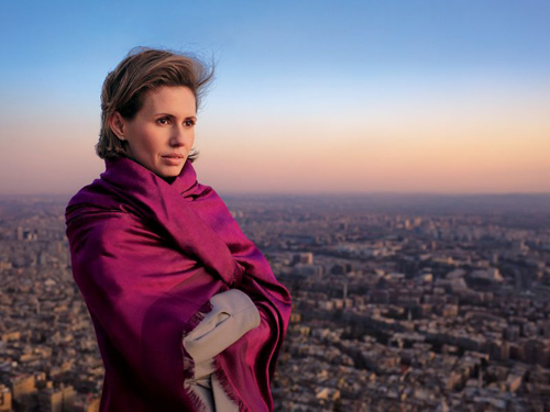 En 2011, le magazine «Vogue» la qualifiait de «rose du désert»