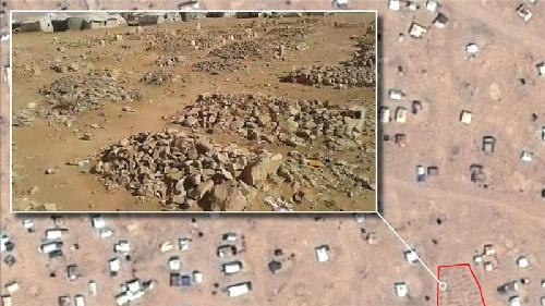 Un cimetière à la frontière Syrie-Jordanie (Vidéo Amnesty International)