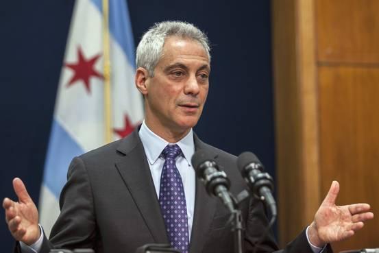 Rahm Emanuel, maire démocrate de Chicago