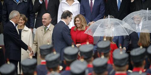 Mariano Rajoy salue chaleureusement Susana Diaz