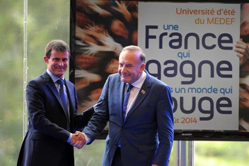 Valls et Gattaz
