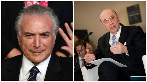 Michel Temer et Henrique Meirelles