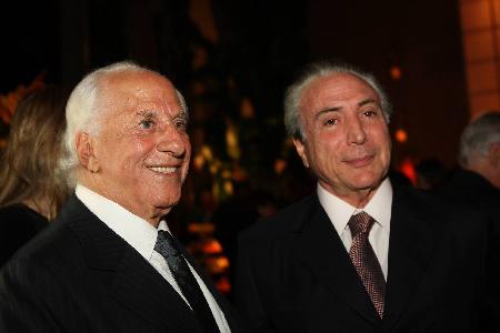 José Yunes et Michel Temer