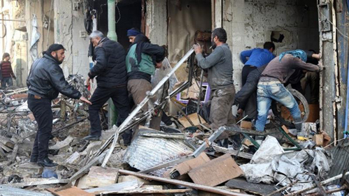 Lundi 5 décembre 2016, les bombardements de l'aviation russe se sont intensifiés dans la province d'idlib faisant plus de 70 morts