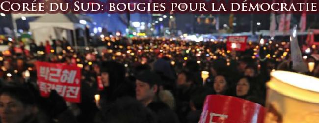 Corée du Sud. Les manifestations aux bougies renversent la présidente Park