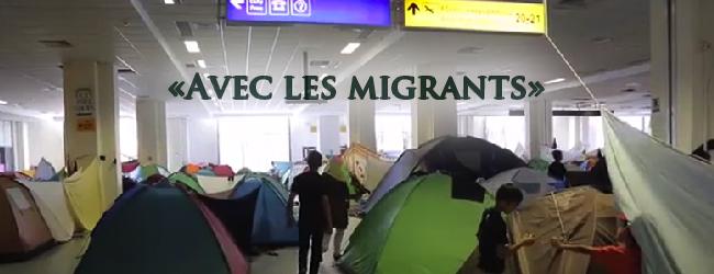 France. «Avec les migrants»