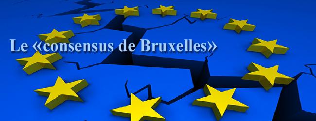 Débat. Union européenne: le cercle vicieux du «consensus de Bruxelles»