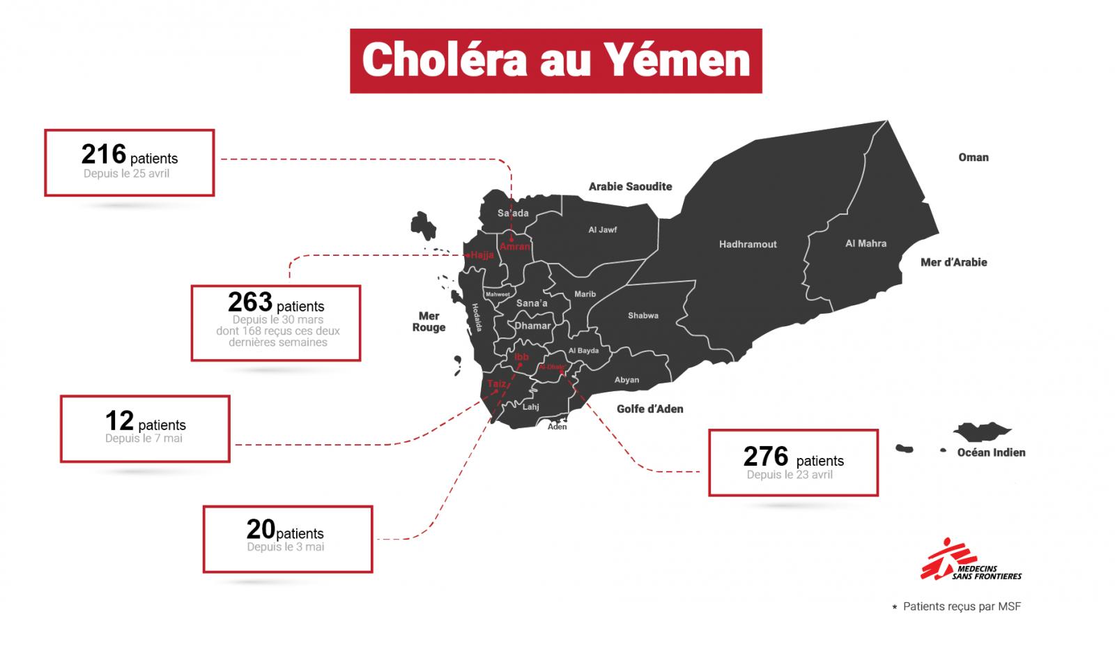 Cholera map_Yemen_Fr