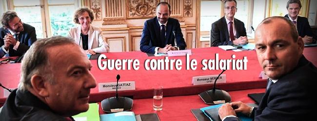 France. «Blitzkrieg» contre le Code du travail et l'ensemble des salarié·e·s