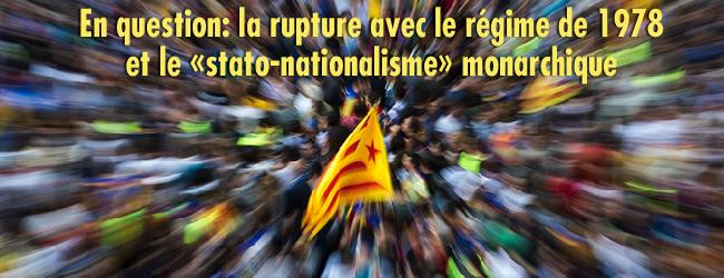 Catalogne-Etat espagnol. Cette maison est en ruine. Ce roi est un danger. Ce président un obstacle