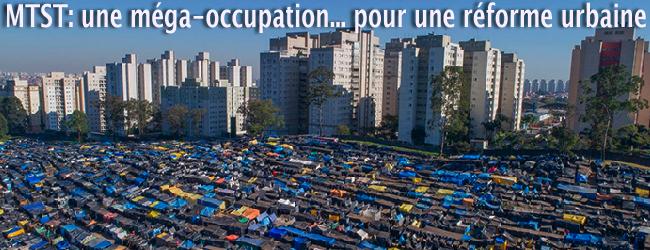 Brésil. La méga-occupation de São Bernardo reflète le chômage galopant