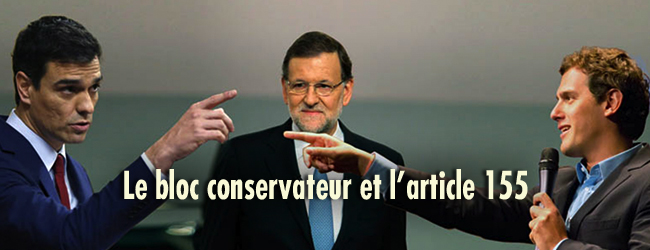 Etat espagnol-Catalogne. L'article 155 et la mise entre parenthèses de la démocratie
