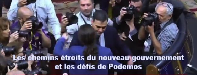 Etat espagnol. Le chemin étroit du nouveau gouvernement et les défis d'Unidos Podemos
