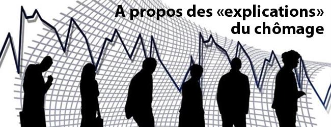 Comment les économistes dominants expliquent le chômage