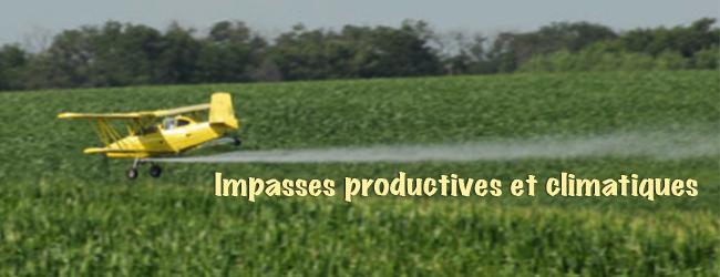 Cultures et élevage en monoculture: impasses productives et impacts climatiques majeurs (II)