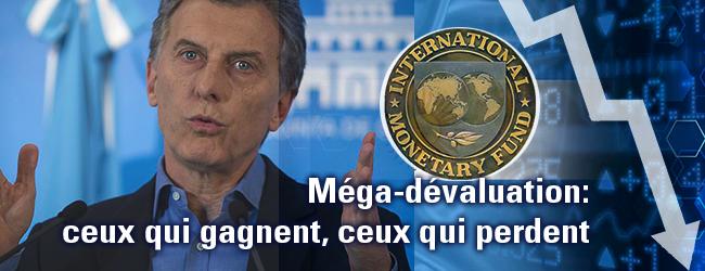 Argentine. La méga-dévaluation: ceux qui gagnent, ceux qui perdent