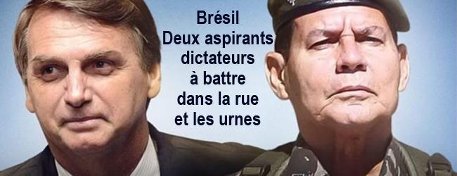 Dossier-Brésil. Un régime autoritaire: l'héritier des contre-réformes en pleine crise