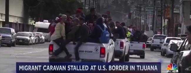 Migrations. La caravane des migrant·e·s arrive à la frontière états-unienne: «Je vais passer ce mur»