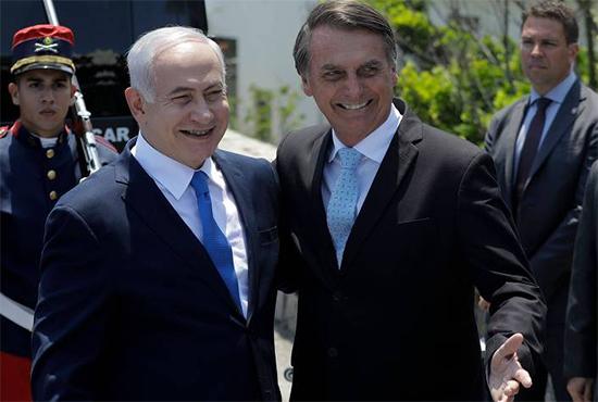 NetanyahouBolsonaro