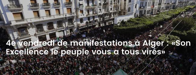 Algérie. Première victoire de la dignité retrouvée
