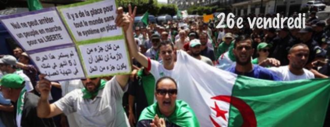 Algérie. «Nous ne nous arrêterons pas»