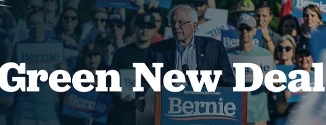 Etats-Unis. Bernie Sanders dévoile son Green New Deal Plan