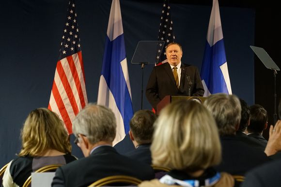 US Secretary of State Mike Pompeo Yle-Thomas-Bateman