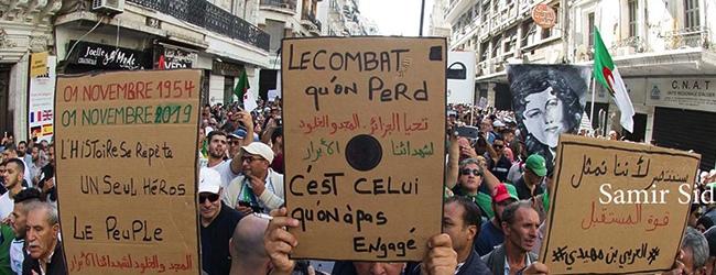 Les Algériens ont symboliquement renoué avec leur histoire