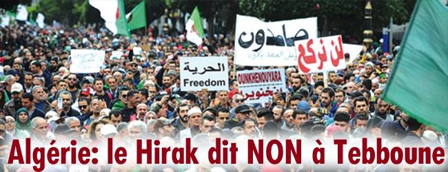 Algérie. 43e vendredi de la contestation populaire. Le Hirak dit NON à Tebboune